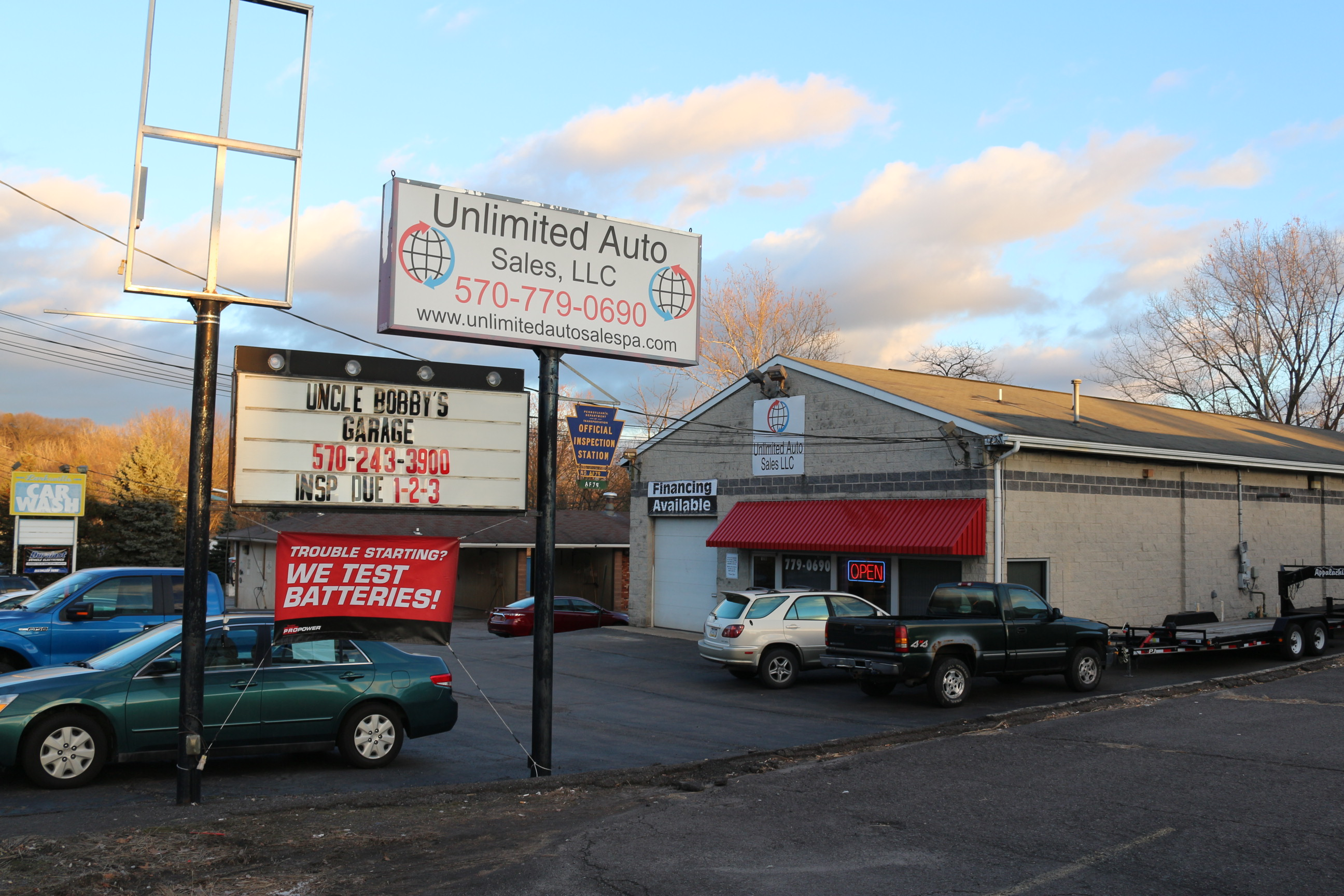Bobbys Auto Sales >> Uncle Bobby S Garage Llc Auto And Light Truck Repair